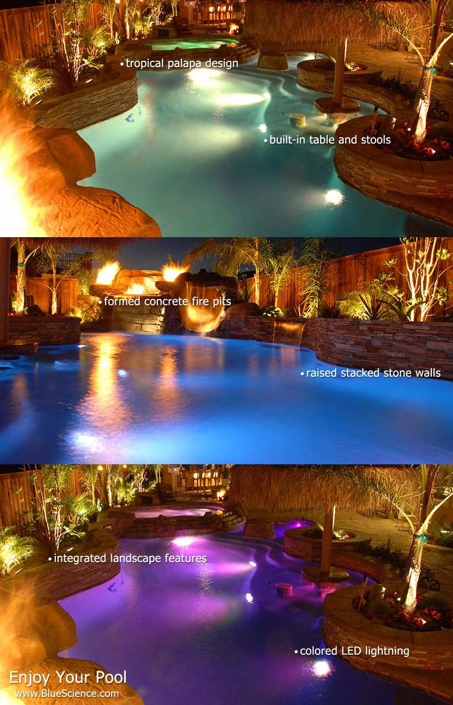 Superbly Built Pools & Spas for San Antonio by Blue Science